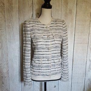 ZARA WOMAN Tweed Blazer   Small